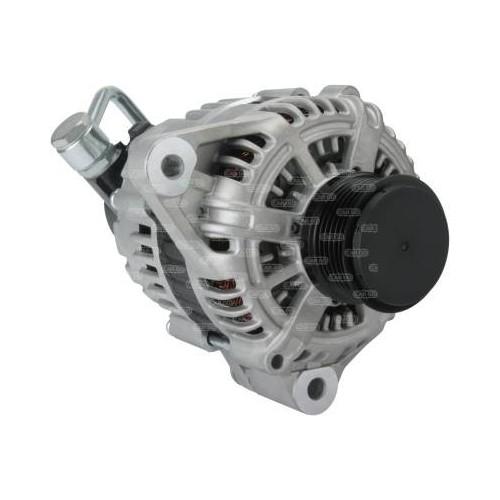 Alternateur 14 Volts 120 A, Hitachi 02131-9110, Bosch 0986049550