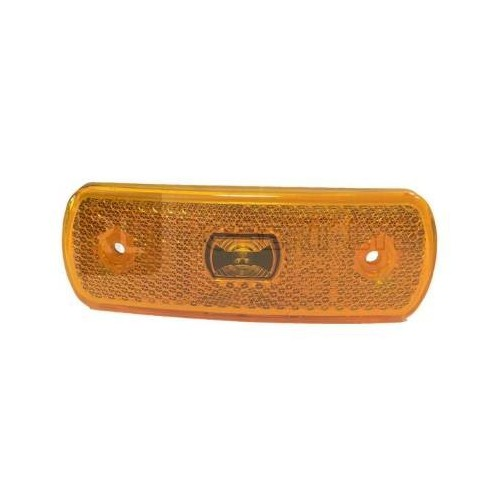 Feu orange led 12-24 volts