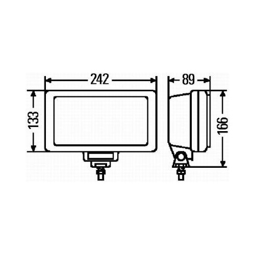 Projecteur antibrouillard Hella 1NE 006 300-051