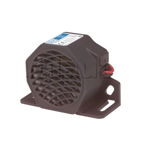 Alarme de recul 12/24 Volts à ultrasons 97DB - Multifréquences- IP67