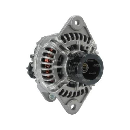 Alternateur 28 Volts 150 A, Bosch 0124655057, Renault 7421561402