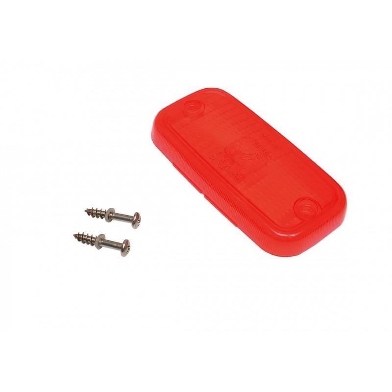 Cabochon rouge Vignal 094056 avec catadioptre PFE 94 CK