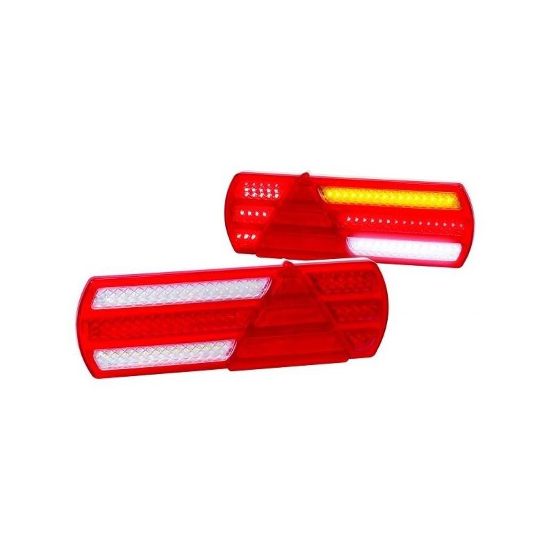 Feux de remorque FULL LED (La Paire) LED AUTOLAMPS