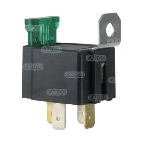 Mini relais 12 volts 30 A
