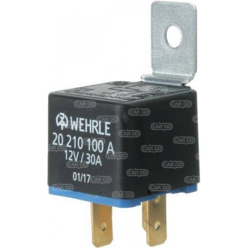 Mini relais 12 V 30 A