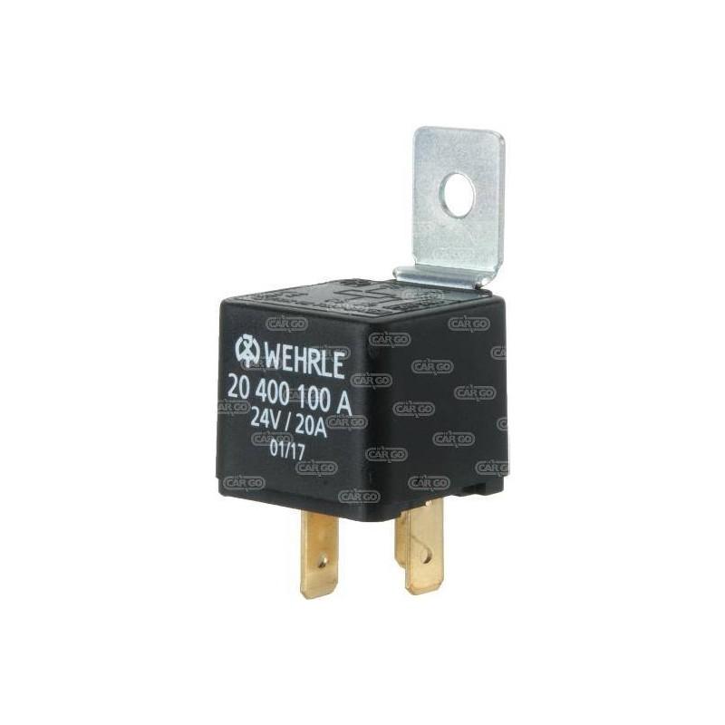 Mini relais 24 V 20 A