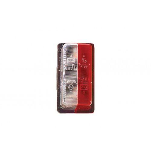 FE88 - Feu de gabarit et d'encombrement cristal + rouge vignal 088010
