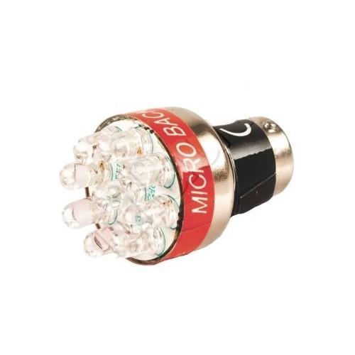 Ampoule avec bip/alarme de recul à LED 12 ou 24 Volts