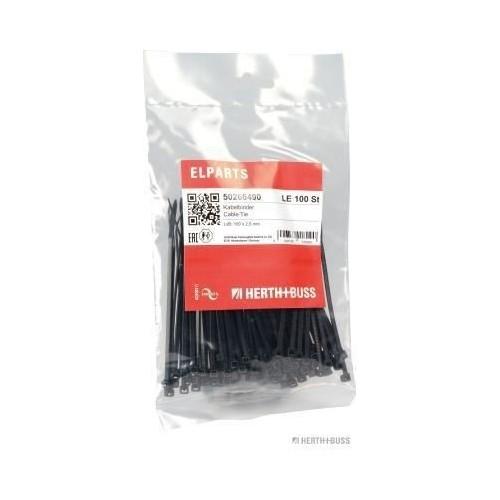Rislan Noir 100mm X 2.5mm (Sachet de 100)