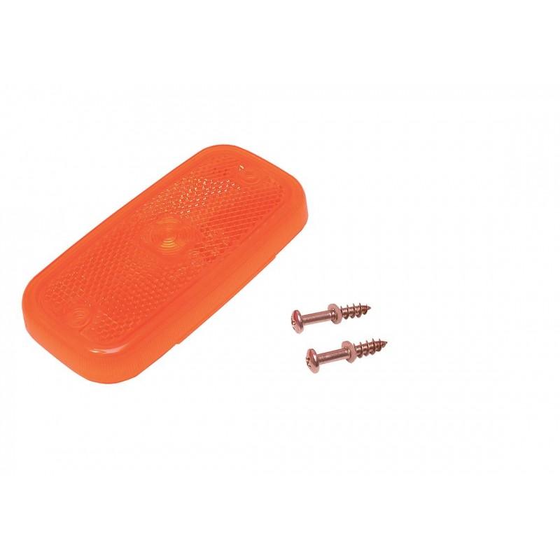 FE94/98 - Cabochon ambre avec catadioptre PFE 94 DK vignal 094016