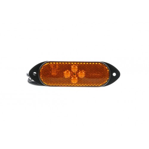 SMD04 LED - Feu de position latéral LED 24V ambre vignal 104090