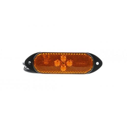 SMD04 LED - Feu de position latéral LED 24V ambre vignal 104100
