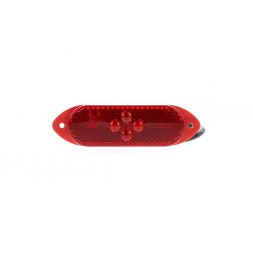 SMD04 LED - Feu de position arrière LED 24V rouge vignal 104170