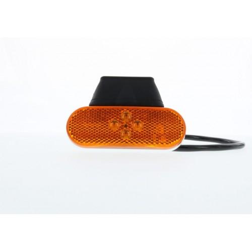 SMD04 LED - Feu de position latéral LED 24V ambre vignal 104250