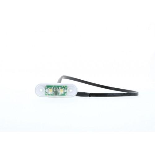 FE04 LED - Feu de position avant LED 24V cristal Asca, Samro, Trouillet