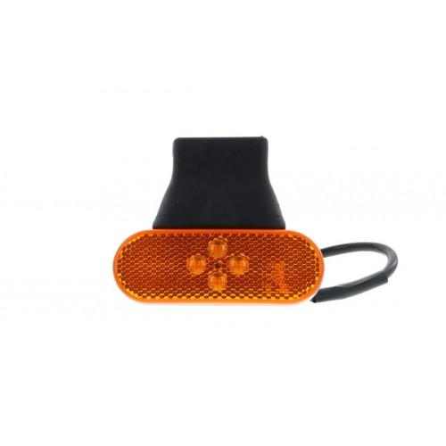 SMD04 LED - Feu de position latéral LED 24V ambre vignal 104640