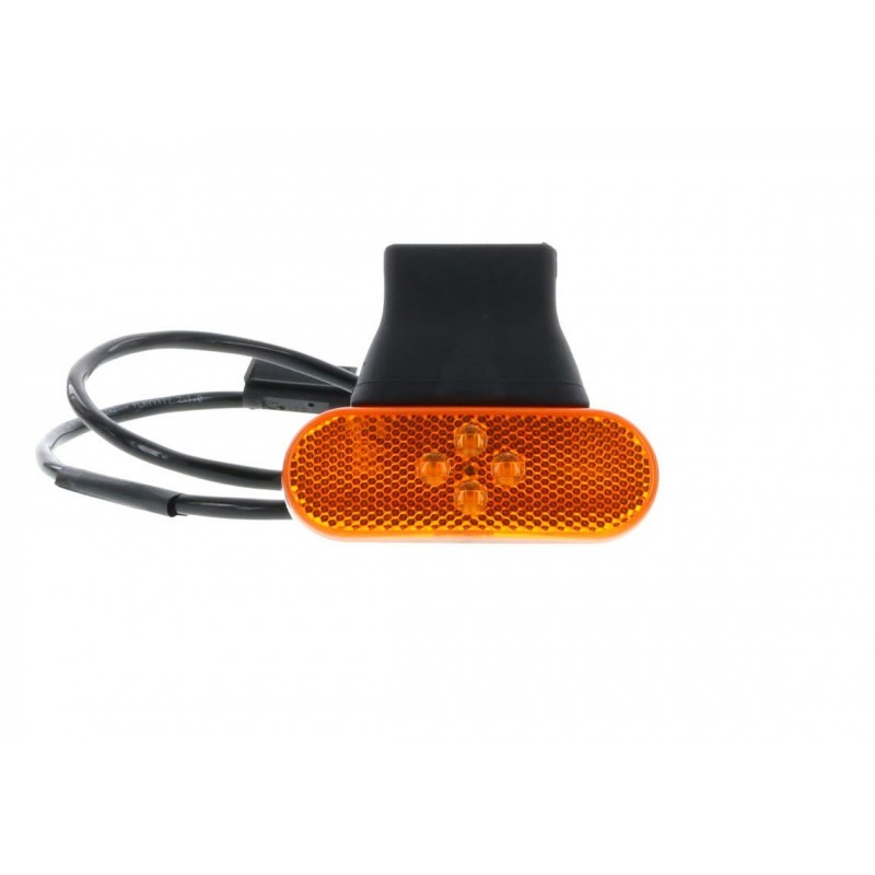 SMD04 LED - Feu de position latéral LED 24V ambre vignal 104650