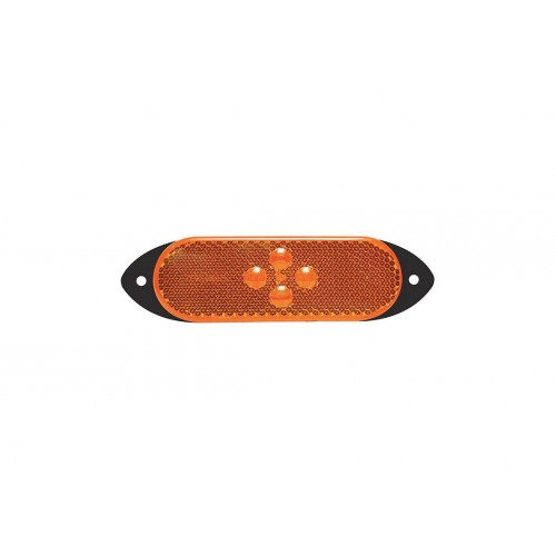SMD04 LED - Feu de position latéral LED 24V ambre vignal 104670