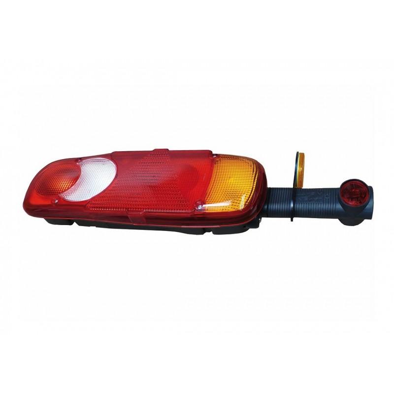 LC5T - Feu arrière Droit, Feu de gabarit, conn AMP 1.5 arrière vignal 153670