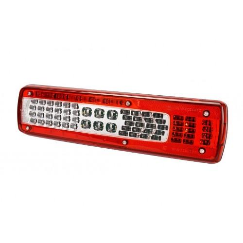 LC9 LED - Feu arrière LED Droit, connecteur AMP 1.5 - 7 voies Latéral vignal 158040