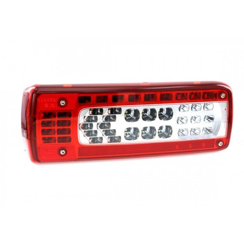 LC10 LED - Feu arrière LED Gauche, connecteur AMP 1.5 - 7 voies Latéral vignal 159520