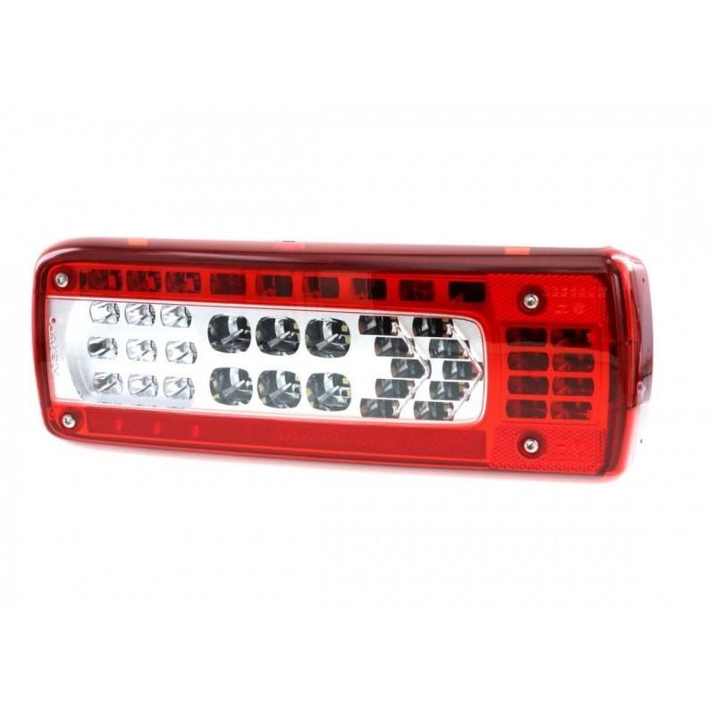 LC10 LED - Feu arrière LED Droit, connecteur AMP 1.5 - 7 voies Latéral vignal 159530
