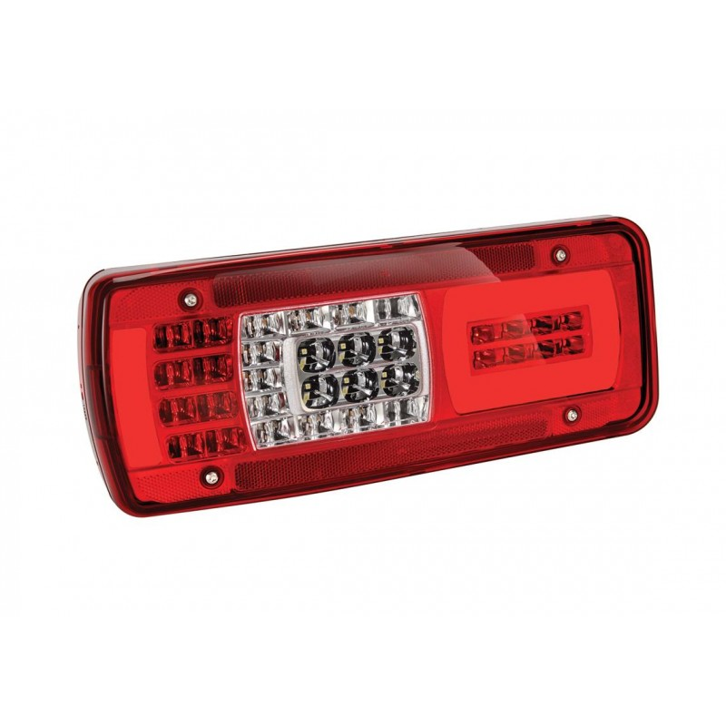 LC11 LED - Feu arrière LED Gauche, EPP, conn HDSCS 8 voies arrière IVECO vignal 160140