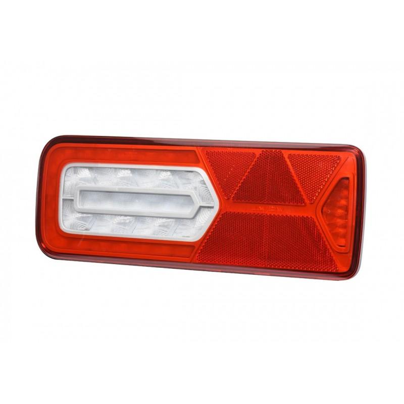 LC12 LED - Feu arrière LED Gauche 24V, Conn additionnels, triangle vignal 161000
