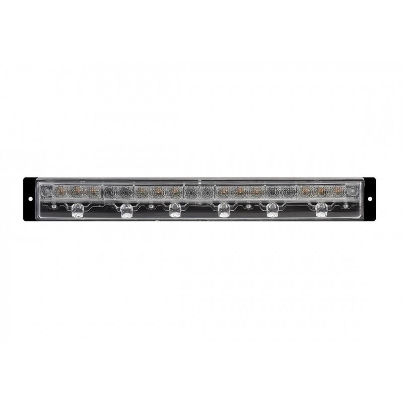 BL15 LED - Barre éclairage LED Gauche avec connecteur DT4 fixation avant vignal 165040