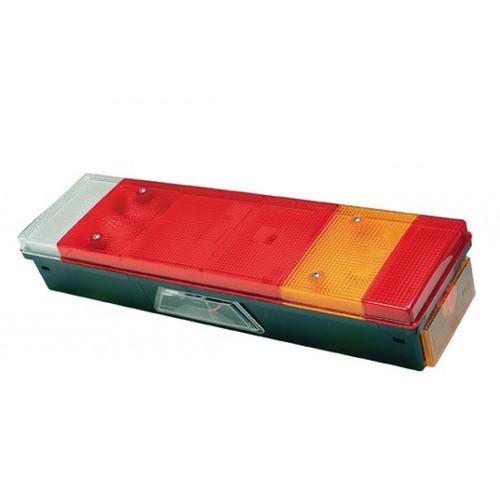 LC7 - Feu arrière Droit avec Eclaireur de plaque et connecteur vignal 168380