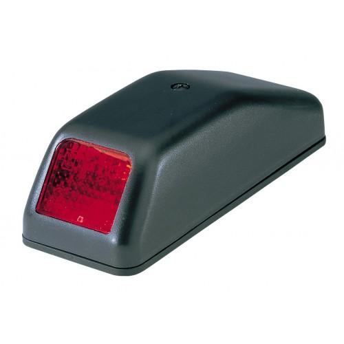 FE85 - Feu de position arrière rouge semelle galbée vignal 185030
