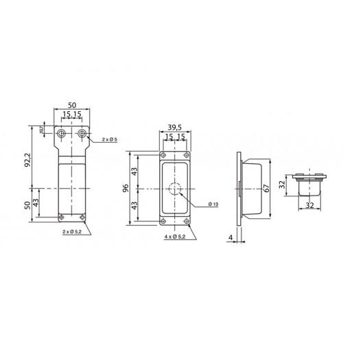 FE87 D - Clignotant latéral Ampoules 12/24V Gauche /Droit vignal 187140