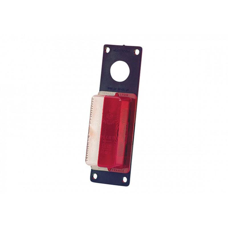 FE88 - Feu de gabarit et d'encombrement Ampoules 12/24V cristal + rouge vignal 188310