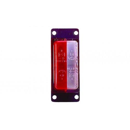FE88 - Feu de gabarit et d'encombrement Ampoules 12/24V cristal + rouge vignal 188710