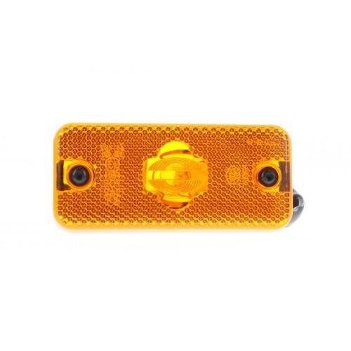 FPL93 - Feu de position latéral Ampoules 12/24V ambre Iveco vignal 193290
