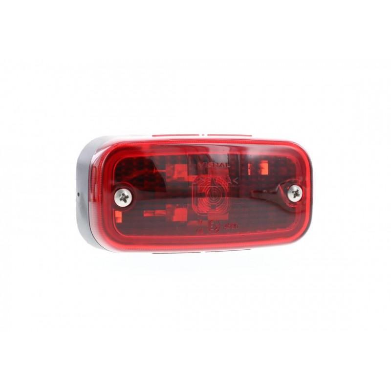 FE98 - Feu de position arrière Ampoules 12/24V rouge vignal 198060