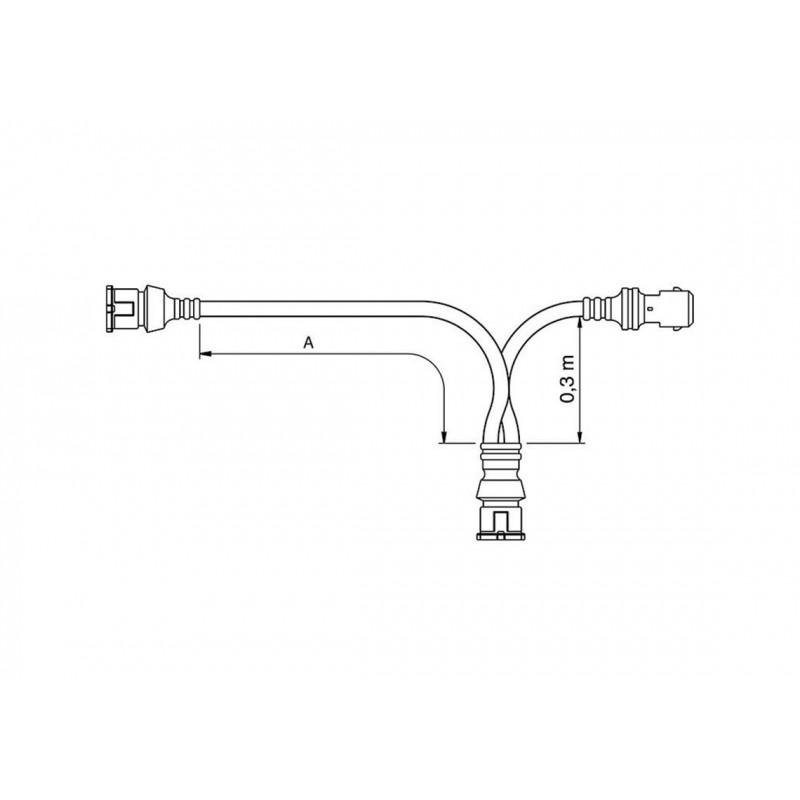 FCA - Faisceau JPTF/JPTM 5.8M vignal 280069