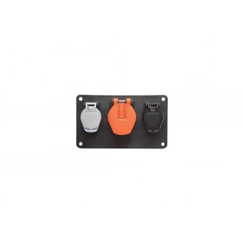 7P-15P - Platin 3 plugs vignal 611410
