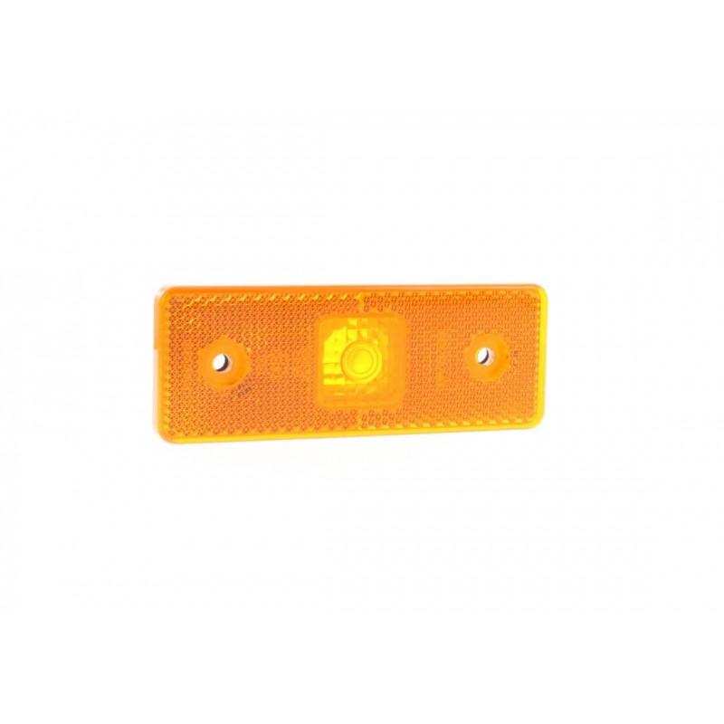 672 - Feu de position latéral Ampoules 12/24V ambre vignal 672410