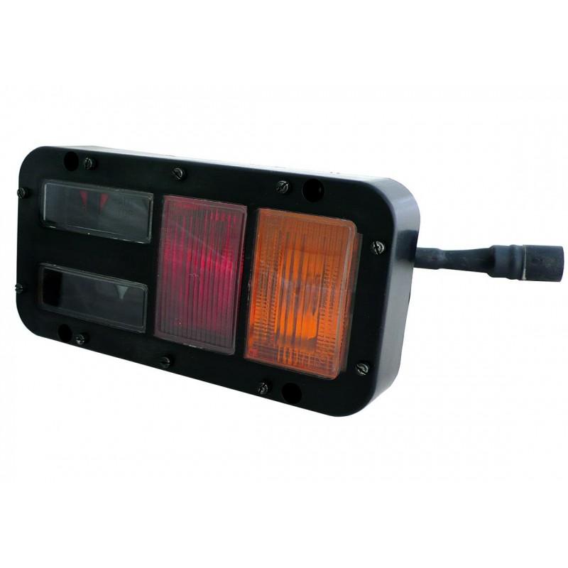 MILI - Feu arrière MILI Droit avec connecteur Amphenol vignal 67513361