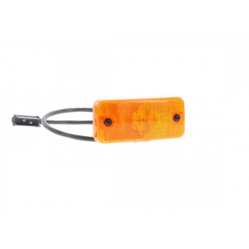 SMD98 LED - Feu de position latéral LED 24V ambre Lamberet vignal D10496