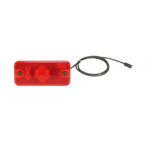 SMD98 LED - Feu de position arrière LED 24V rouge vignal D10499