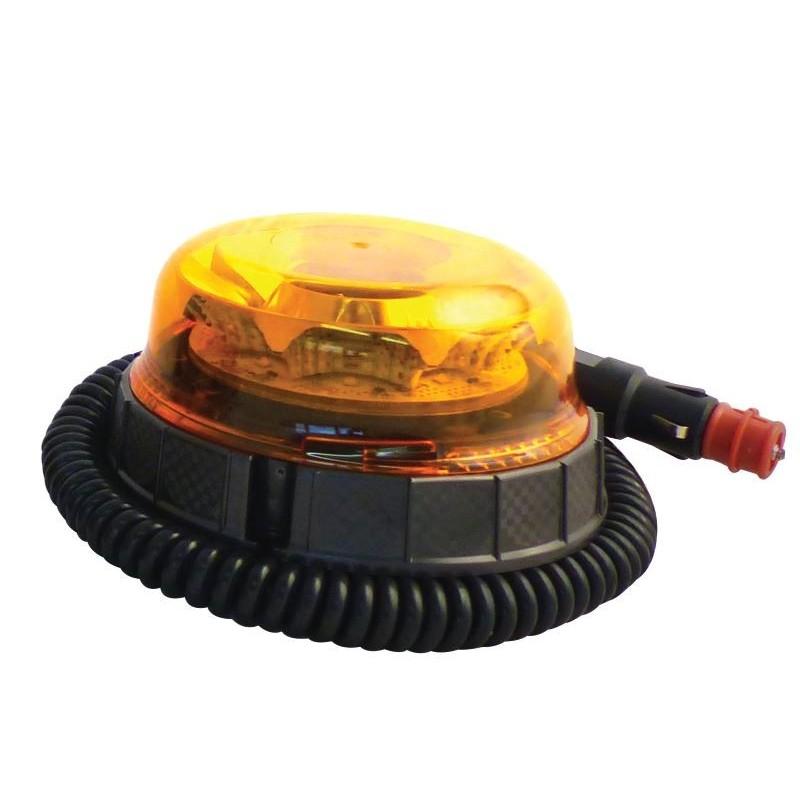 Gyrophare 8 Leds SACEX Pegasus rotatif Magnétique