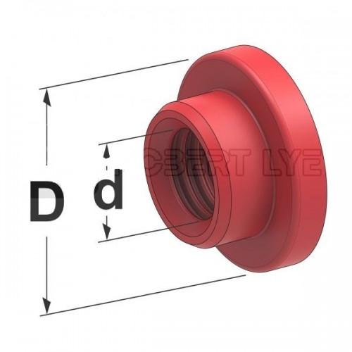Bagues étanchéité silicone pour raccords sortie fusible MIDI pour boîtiers réfs. 0301053 et 0301045