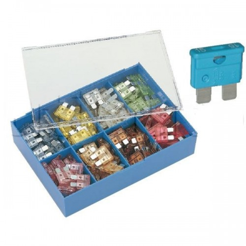 Coffret assortiment de 80 fusibles UNIVERSELS