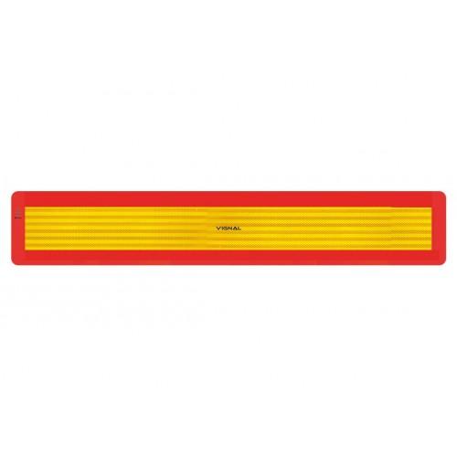 R70 - 1 Plaque ECE 70/01 remorques Alu 1mm 1130 x 195 vignal D11263