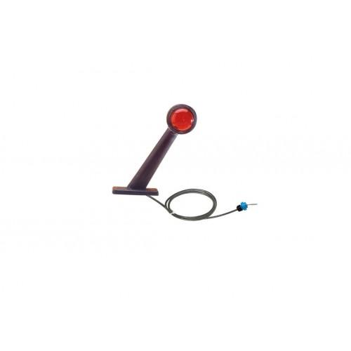 DX - Feu de gabarit et d'encombrement Ampoules 12/24V cristal + rouge montage sur module de jonction