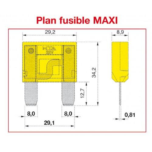 Fusible MAXI SAE J 1888 - ISO 8820 20A