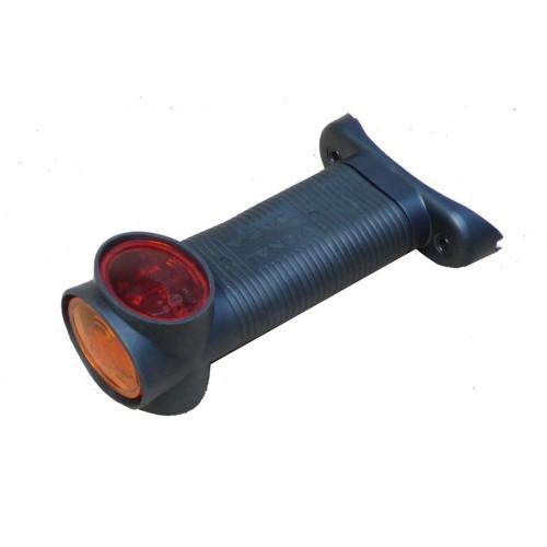 DX - Feu de gabarit et d'encombrement Ampoules 12/24V cristal + rouge + ambre remplacement sur LC5TDX