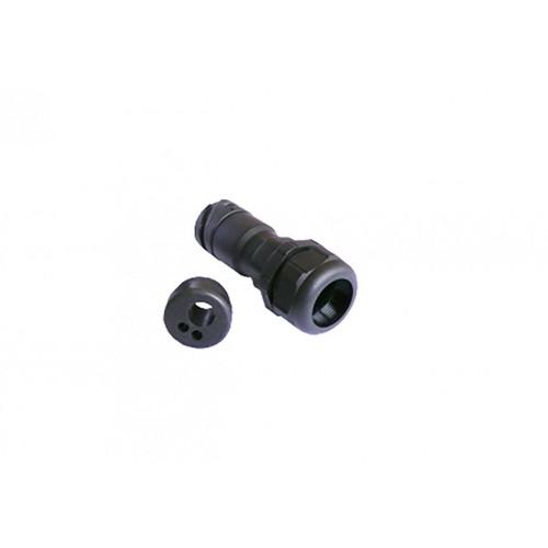 PRL - Connecteur RSC 16V mâle presse étoupe + contacts VIGNAL D13250